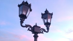 Houston Antique Victorian Outdoor Lights for sale