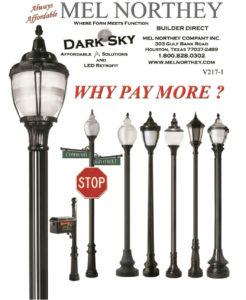 Houston Decorative Street Lamps
