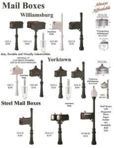 Houston Decorative Mailboxes