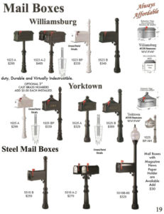 Mailbox Posts For Sale In Houston texas