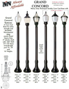 Decorative Street Lamps For Sale In Houston Texas Area